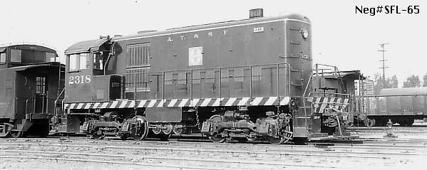 2318 Alco switcher San Bernardino 1948