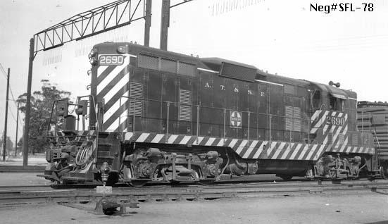 Santa Fe Locomotives