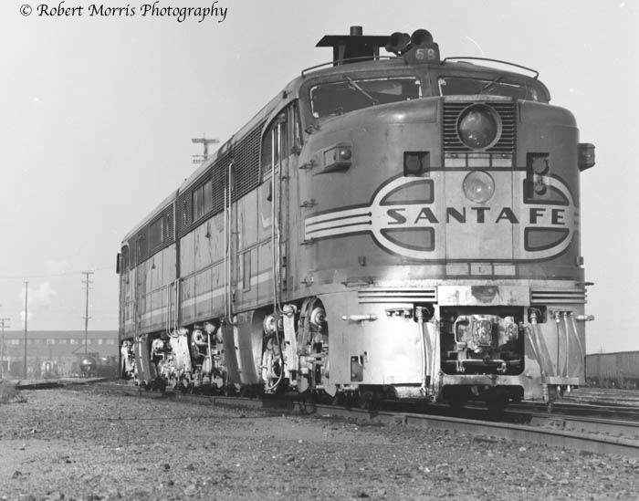 santa fe passenger trains