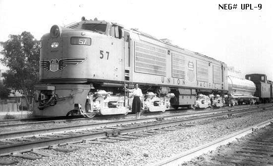 "Union Pacific ""Big Blow"" gas turbine locomotive"