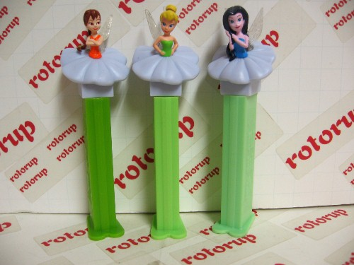 Released in 1999 Exclusive PEZ 5 Crystal bubbleman 5 different colors