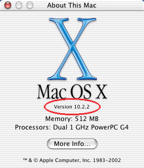 X About This Mac